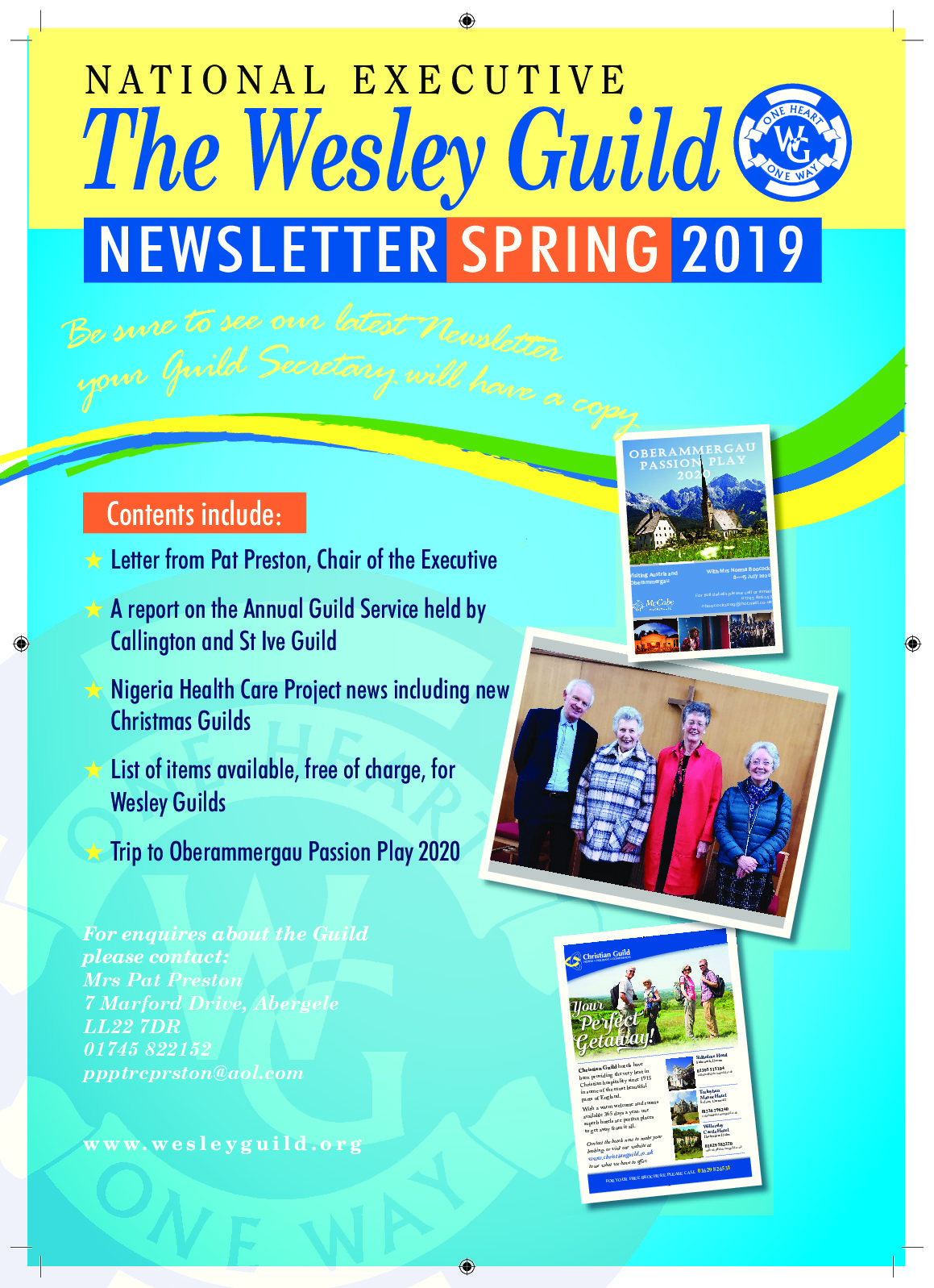 Our Spring Newsletter Is Now Available
